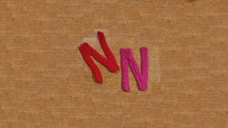 lettere amigurumi