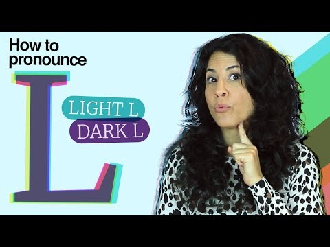 The L in English - How to get it right! | Dark L | Light L