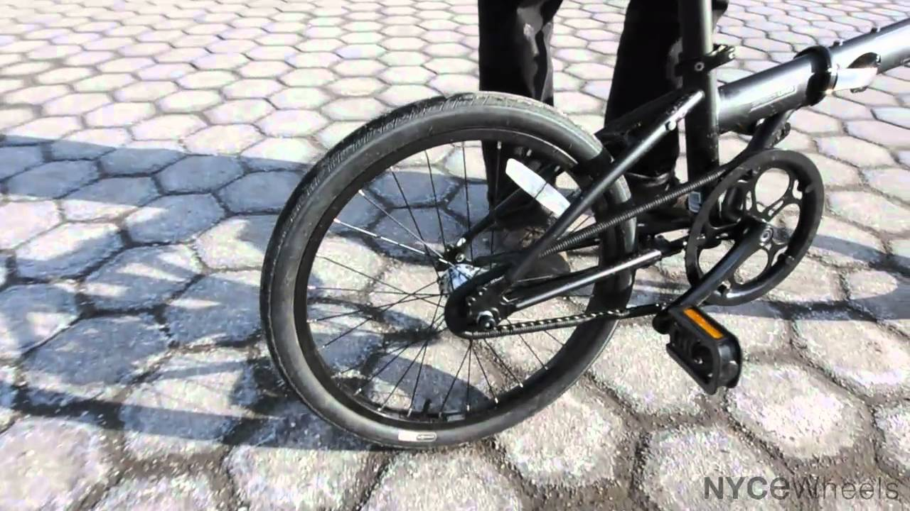 Dahon Speed Uno folding bike - YouTube