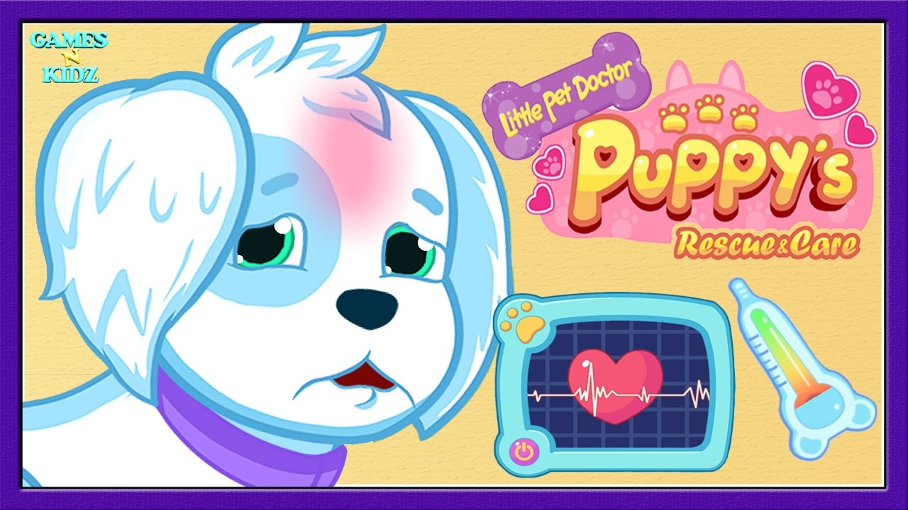 Fun Animal Pet Care Baby Game Play Puppy Doctor Little Pet