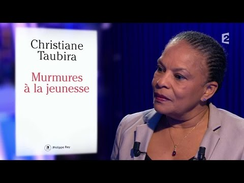 Christiane Taubira - On n'est pas couché 6 février 2016 #ONPC
