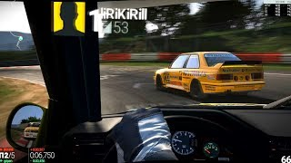 ГОНКИ ОНЛАЙН: Project CARS Nordschleife BMW M3 e30 Group A