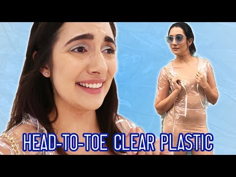 I Wore A Clear Plastic Outfit For A Day