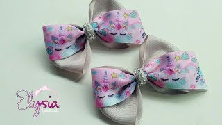 Simple and Easy Ribbon Bow Tutorial Part 2 🎀 DIY by Elysia Handmade