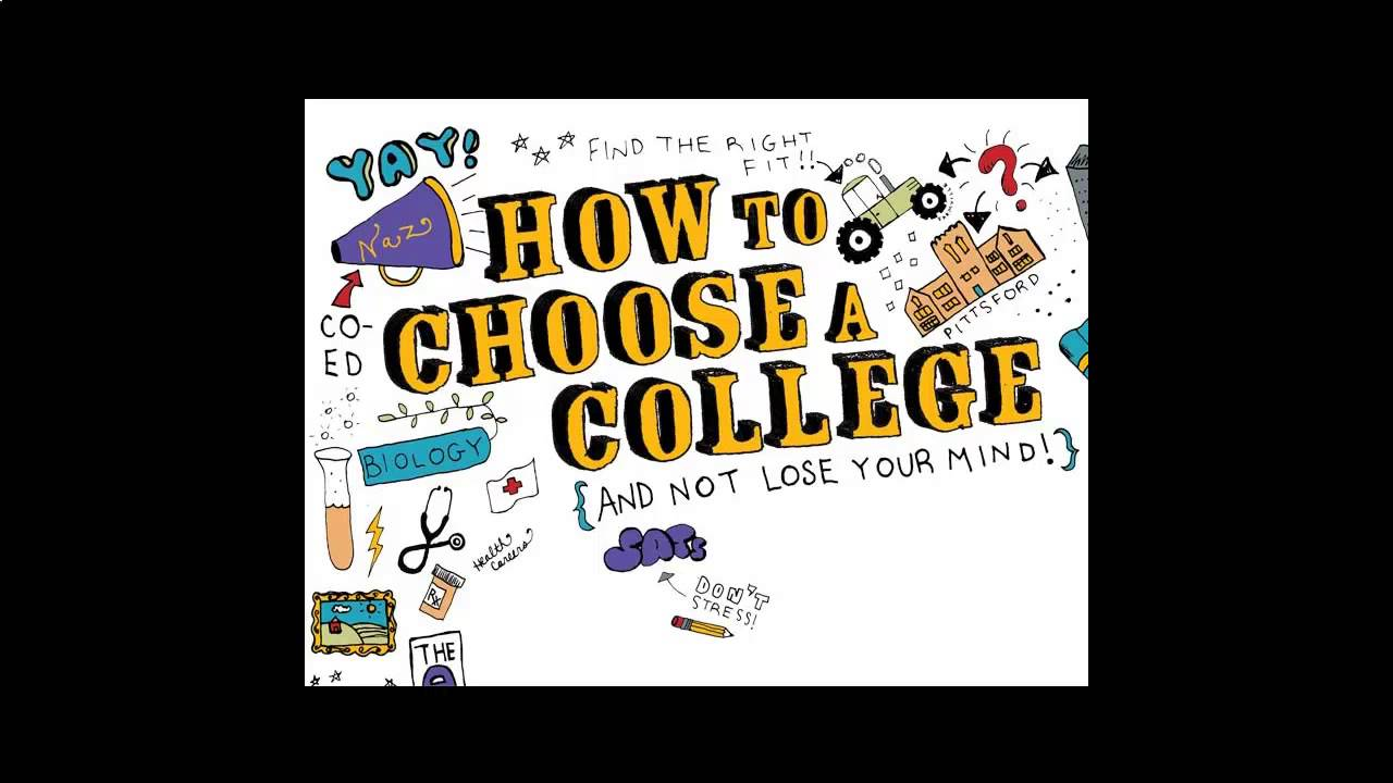 how to choose a college colleges near me
