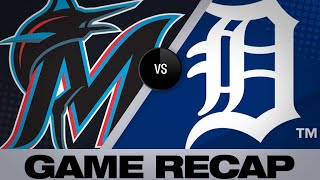 5/21/19: Wallach's RBI double in 11th lifts Marlins