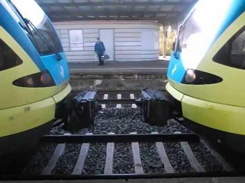 FLIRT-Schaku der Westfalenbahn in Löhne(Westf)