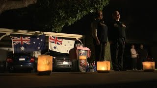 Dawn service held in Adelaide to commemorate Anzac Day