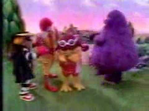 1980's McDonalds Birdie Learn to Fly Commercial