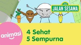 Gambar cover Jalan Sesama: 4 Sehat 5 Sempurna