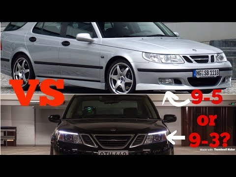 Saab 9-3 Aero Vs. 9-5 Aero: Which Is Better??