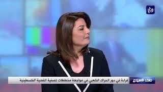 قراءة في دور الحراك الشعبي في مواجهة مخططات تصفية القضية الفلسطينية (29-3-2019)