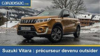 Essai - Suzuki Vitara 2019 : précurseur devenu outsider