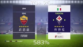 Рома Фиорентина прогноз на матч и ставки на спорт