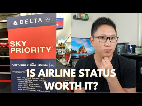 Is Airline Elite Status Worth It? (Perk Analysis)