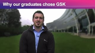 Why our graduates chose GSK thumbnail