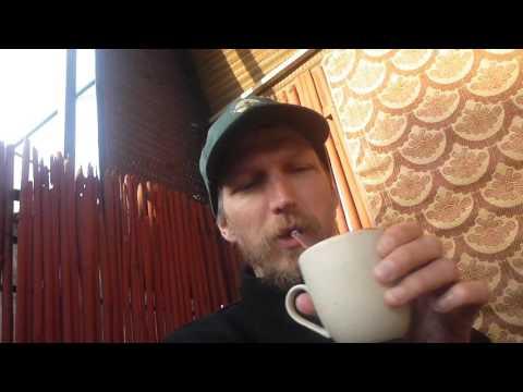 Breakfast at Smyle Hostel Inn   Part 1   New Delhi   India   Feb 2016
