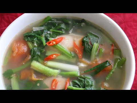 Vietnamese Fish Soup (Canh Cá Nấu Ngót) Recipe Summer Soup