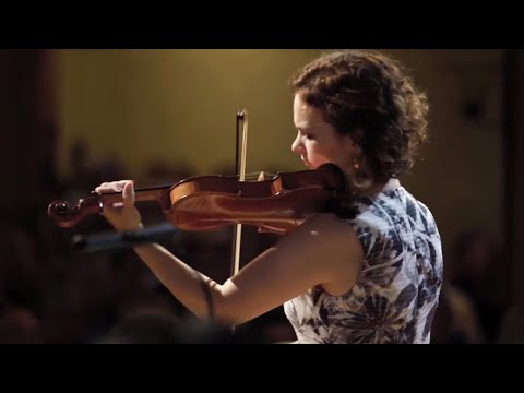 Hilary Hahn plays J.S.Bach Violin Concerto No.1 in a minor BWV1041-Deutsche Kammerphil. Bremen