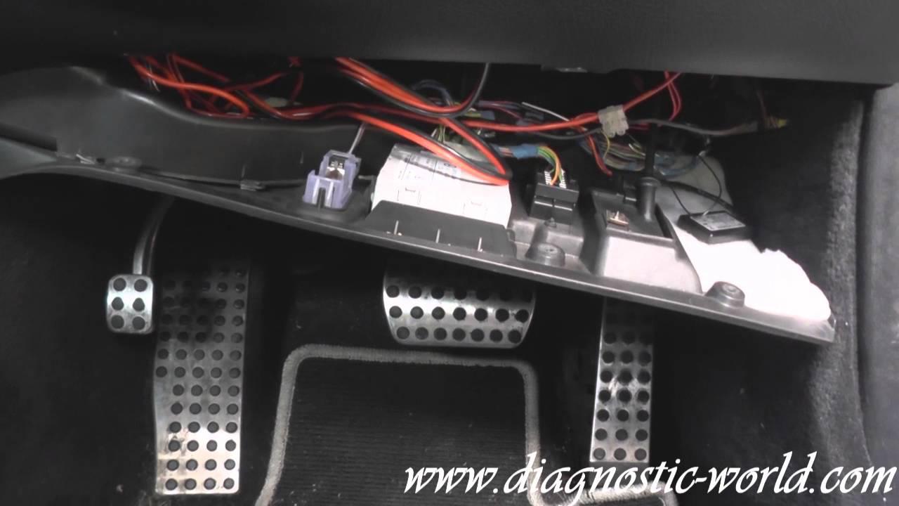 Mercedes e class w211 stop brake switch replacement esp for Mercedes benz installing parking sensors aftermarket
