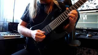 Stratovarius - A Million Lightyears Away guitar solo cover by Andi Kravljaca