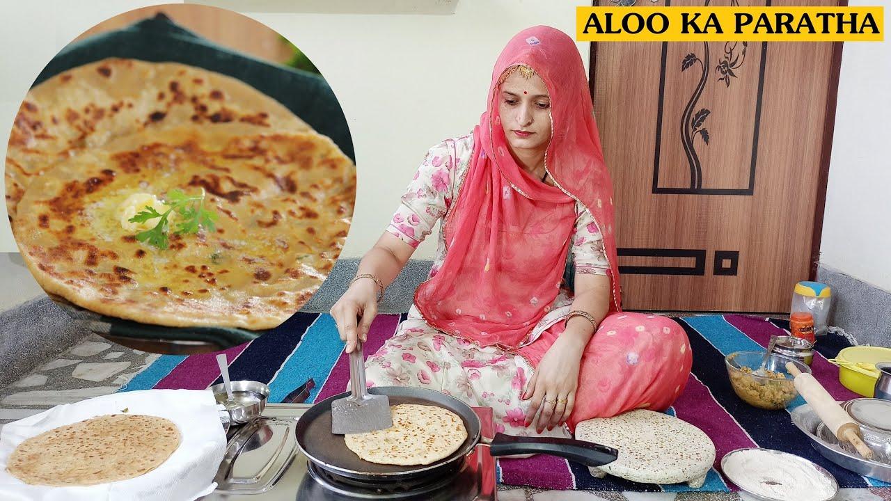 एकदम नए तरीके से बनाएं बिना फटे आलू के पराठे   Aloo Paratha   Potato Paratha   Geeta Choudhary