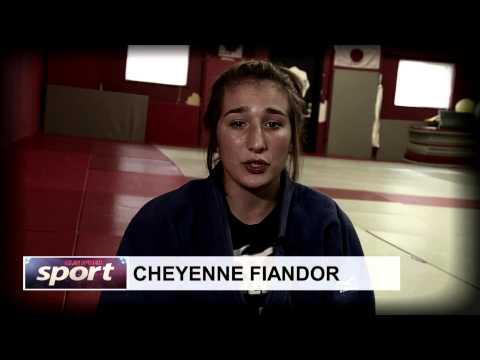 Clin d'oeil sport Cheyenne Fiandor - judo