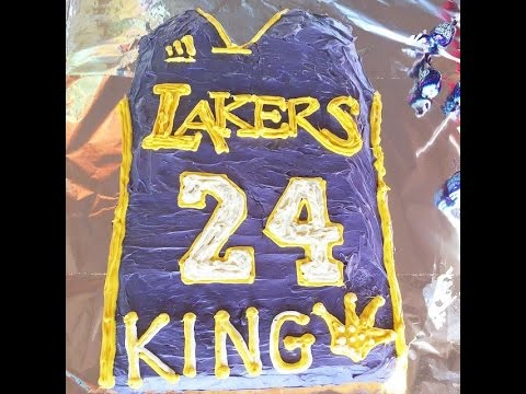 Sweets Solutions Exp. - Los Angeles Lakers Birthday Cake - YouTube