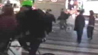 NYPD assaults of Critical Mass Bike Riders in Times Sq  2006-2008