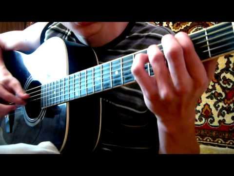 Каникулы строгого режима - Дорога цветов на гитаре + ноты и табы