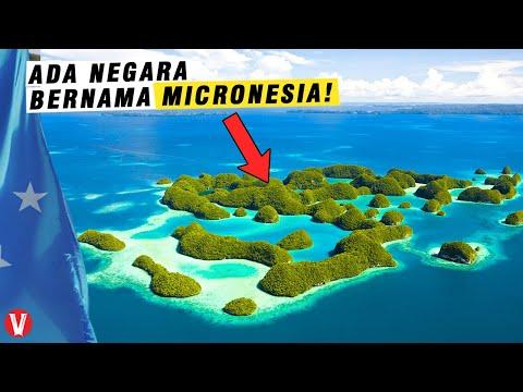 Pernah dipimpin Presiden Keturunan Indonesia, Inilah Fakta Tentang Mikronesia
