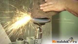 видео Заточка лопаты напильником, болгаркой, наждачным станком