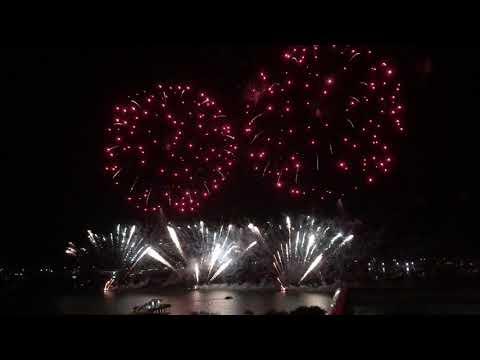 Australia Day Firework @ Broadwater Parklands, Gold Coast