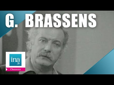 """Georges Brassens """"Auprès de mon arbre""""   Archive INA"""