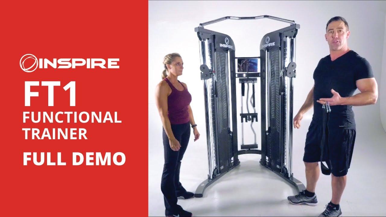 Inspire Fitness FT1 Functional Trainer Presentation - YouTube
