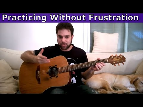 How to Practice Music Effectively Without Frustration (Lesson Tutorial)