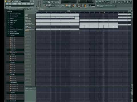 Nitti Type Beat on FL Studio 7 By King AG Productions.mp4