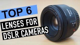 BEST 6: Lenses For Dslr Cameras 2018