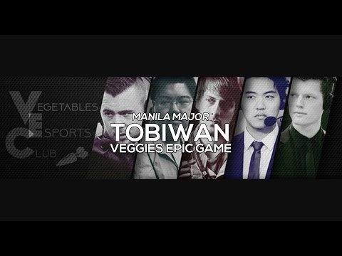 Veggies Epic Game - Dota 2 Manila Major Qualifier 1st