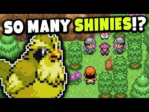 SO MANY SHINY POKEMON IN THIS ROM!? (Pokemon Omega Rom Hack Showcase)