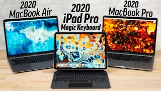 2020 MacBooks vs iPad Pro Magic Keyboard - Best Laptop?