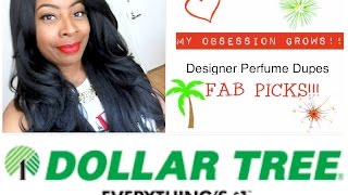 Dollar Tree   DESIGNER PERFUME DUPES FAB PICKS!!   My GROWING OBSESSION Continues...