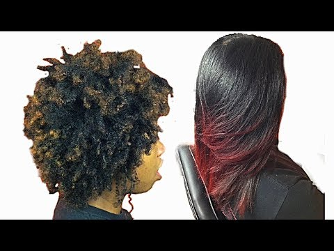 Watch me Slay:Silky blowout on natural hair/Silk blowout press on natural hair at home (Type 4)