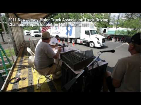 Newark freight driver pursues trucking greatness at New Jersey Truck Driving Championships