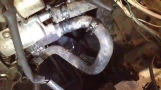 ремонт тойота таун эйс 1992 года выпуска.88 лс турбодизель 2 литра (33) подчасть
