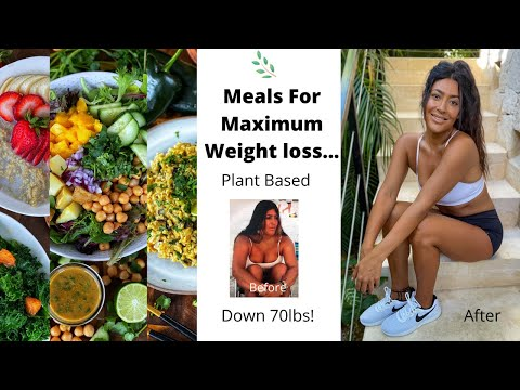 Easy Meals For Maximum Weight Loss // Plant Based (Starch Solution) // Instagram Q \u0026 A