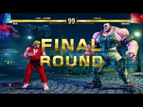 Street Fighter V Arcade Edition - Ken Full Arcade Mode (Street Fighter 1)