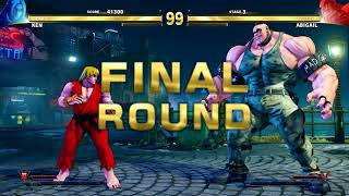 Street Fighter V Arcade Edition - Ken Full Arcade Mode (Street Fighter 1)
