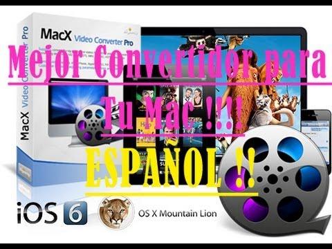 El Mejor Convertidor De Videos Para Mac   MacX Video Converter Pro