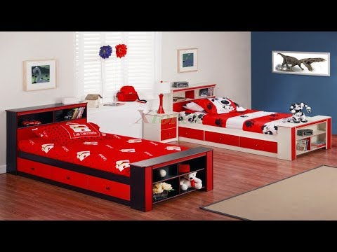 Twin Bed for Kids | DIY Modern Twin Bed Design Ideas for Boys And Girls
